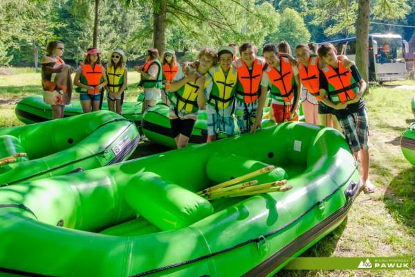 Spływ pontonowy bieszczady-san (1)