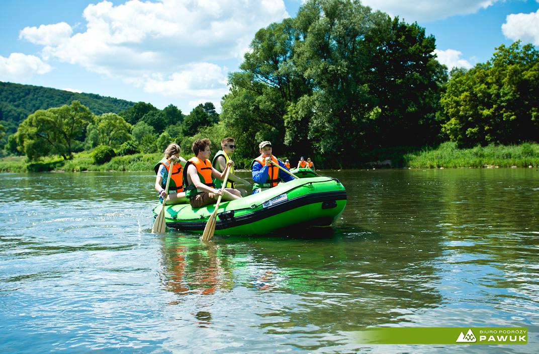 wycieczka szkolna Bieszczady, atrakcje dla szkół Bieszczady, spływy pontonowe grupa szkolna