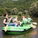 atrakcje dla szkół, spływy pontonowe dla szkół Bieszczady