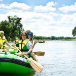 spływ pontonowy dla szkół, atrakcje Bieszczady dla szkół, wycieczki szkolne w Bieszczady
