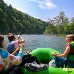 spływy pontonowe dla szkół, atrakcje Bieszczady dla szkół, wycieczki szkolne w Bieszczady