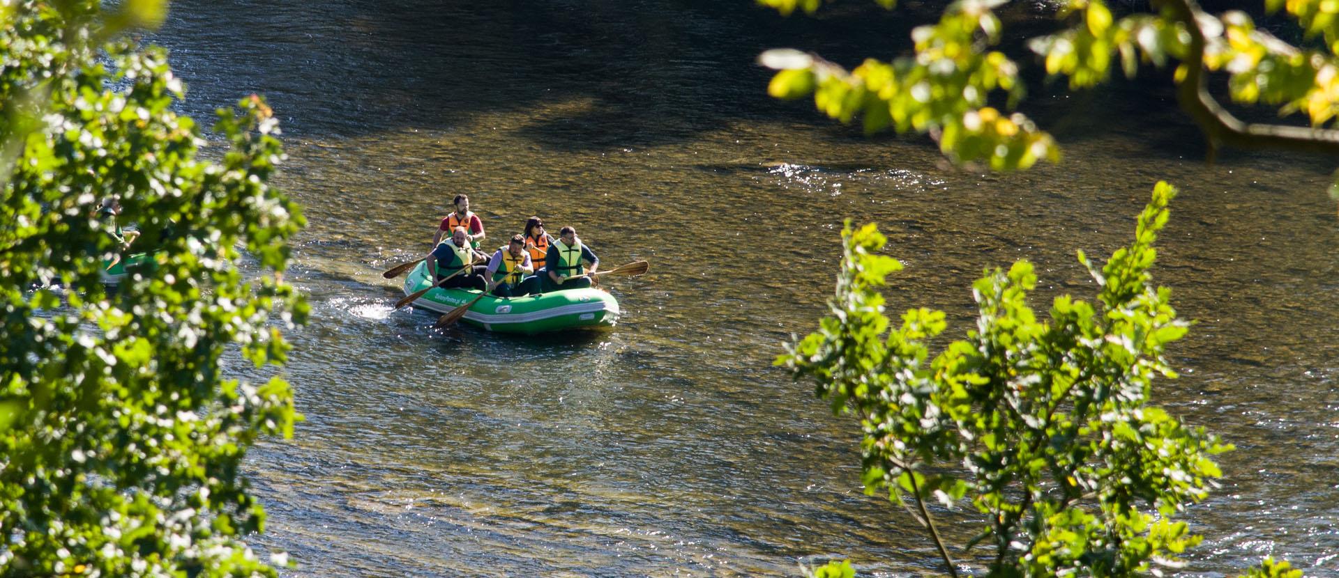Spływy Pontonowe w Bieszczadach - Trasy | Niecodzienny kontakt z piękną bieszczadzką naturą.