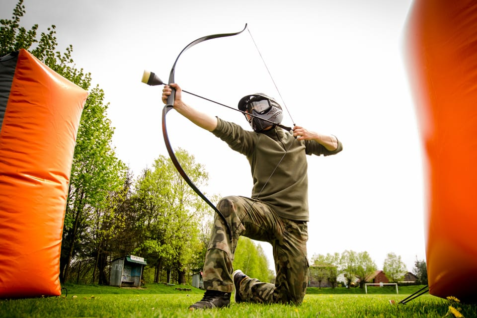 luczniczy-paintbal-w-bieszczadach-archery-tag-atrakcje-6