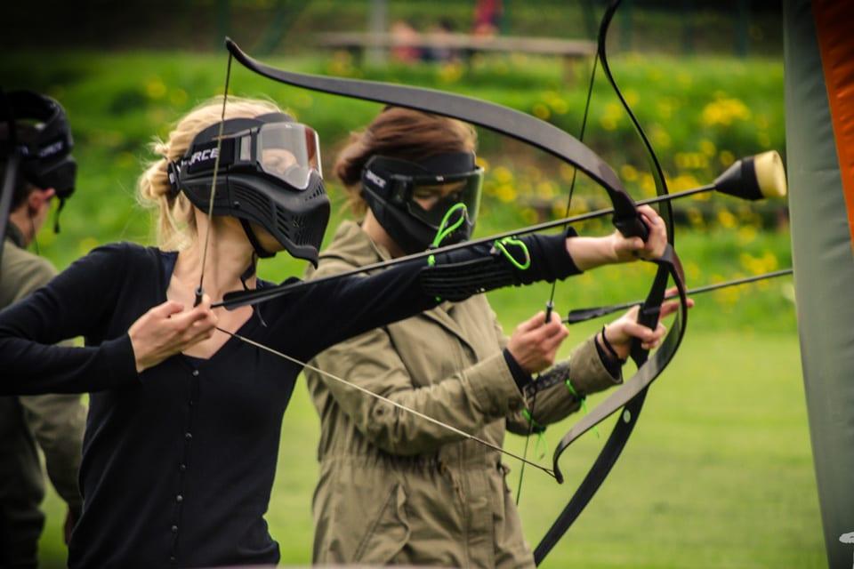 luczniczy-paintbal-w-bieszczadach-archery-tag-atrakcje