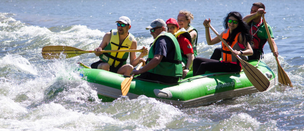 Spływy pontonowe w Bieszczadach, Górny San dla Grup Zorganizowanych