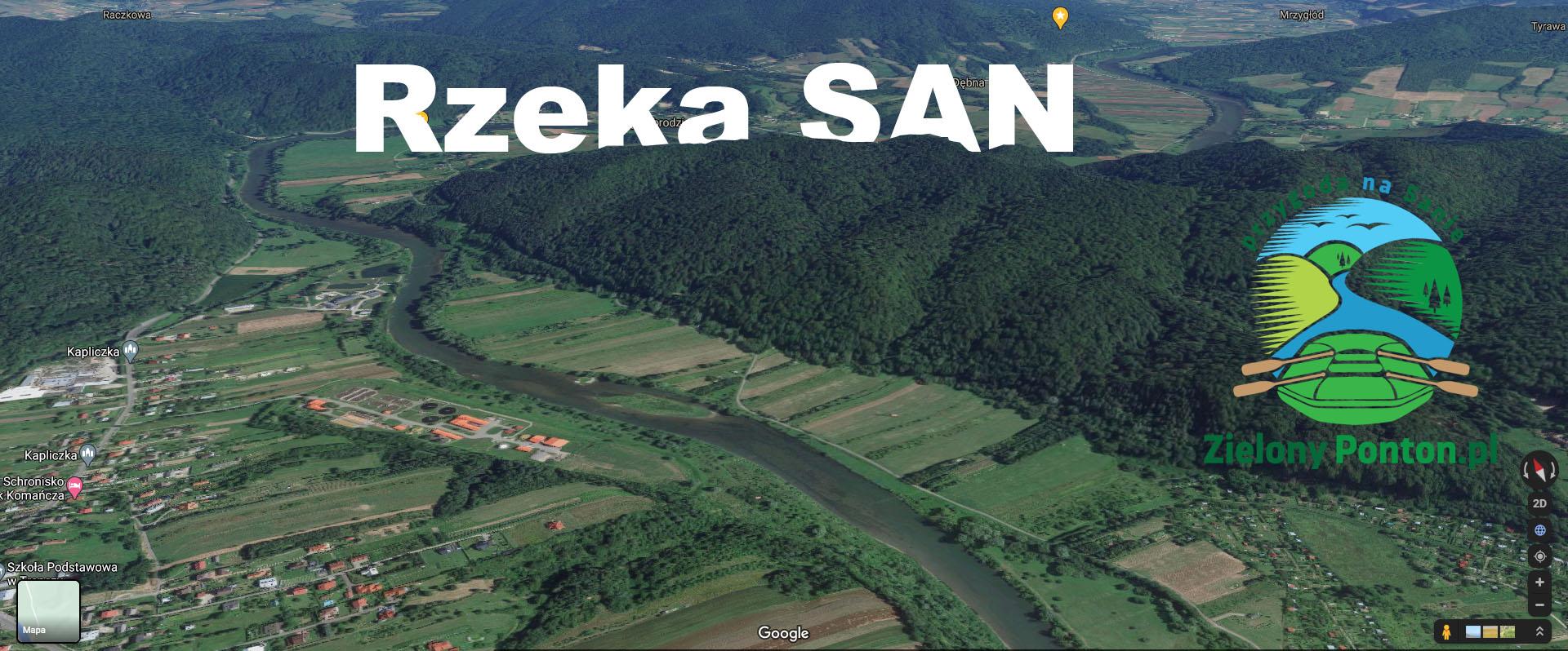 Spływy Sanem - ciekawostki o rzece.