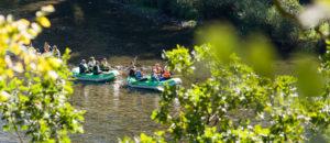 Spływy pontonowe w Bieszczadach dla Grup Zorganizowanych - Rzeką San
