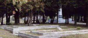Historia Sanoka - cmentarz jeńców radzieckich.