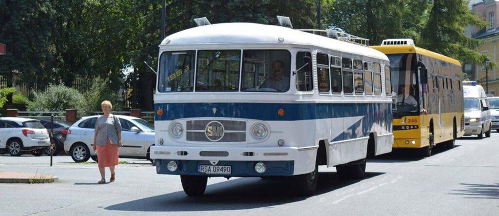 San01 autosan - kultowy autobus w Sanoku.