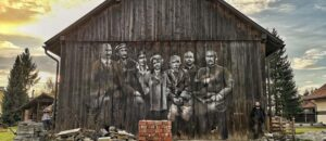 Realistyczne murale Andrejkowa atrakcją Sanoka.