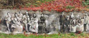 Murale Arkadiusza Andrejkowa to jedna z atrakcji Sanoka.