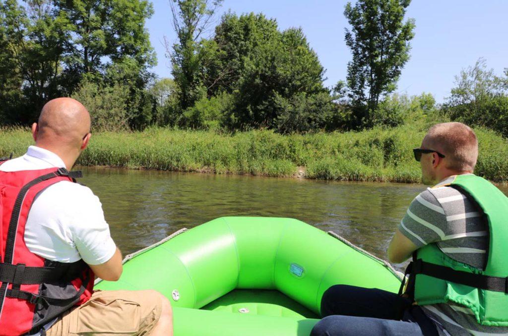 zielony-ponton-rmf-fm-spływy-rzeka-san-fakty-wakacje-atrakcje